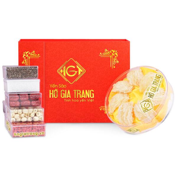 Hồng yến tinh chế ( hộp 50 gr ) - Yến Sào Hồ Gia Trang