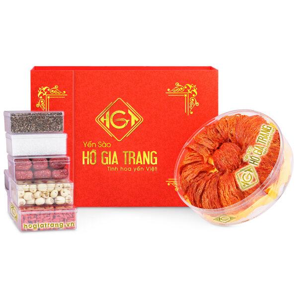 Huyết yến sơ chế ( hộp 100 gr ) - Yến Sào Hồ Gia Trang
